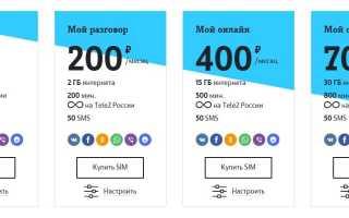 Тарифы теле2 брянск 2020 официальный