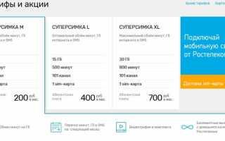 Ютел тарифы сотовой связи пермь