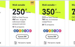 Теле2 владивосток тарифы на сотовую связь
