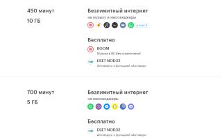 Мегафон тарифы санкт петербург без абонентской платы