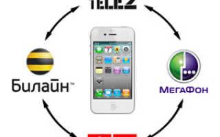 Определение региона по номеру сотового телефона