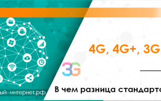 Сотовая связь 3g 4g