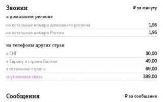 Тарифы теле2 для звонков по россии