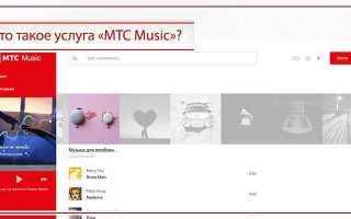 Тариф мтс музыка